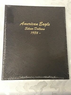 1986-2021 1oz Silver American Eagle 28-Coin Set BU (Dansco Album)