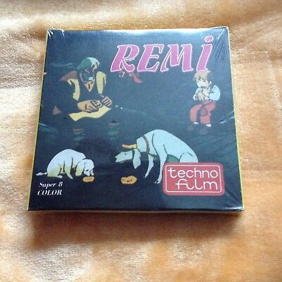 Super 8 Cine Film-Italian Cartoon-Remi-Brand New,Sealed In Box.