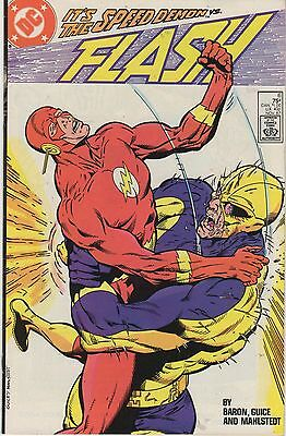 DC Comics The New FLASH #6 7 8 9 10  (1987/1988) Wally West! Jackson Guice! WoW!
