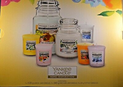 Yankee Candle Home Inspiration Collection Amazing Gift Set