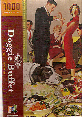 English Springer Spaniel Saturday Evening Post Puzzle 1000 piece Dick Sargent B