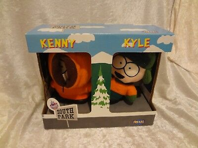 New In Box - South Park Plush Figures Kenny & Kyle Set 1998 Comedy Central OOP