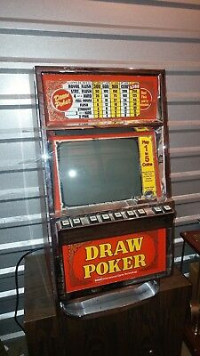 Vintage IGT Video Poker Machine w/Stand from Peppermill Casino