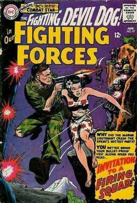 Our Fighting Forces #97 in Very Good minus condition. DC comics