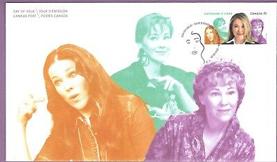 Canada 2014 Great Canadian Comedians- Catherine O'hara # 2775 Fdc Unaddressed