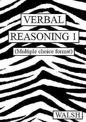 Verbal Reasoning: Multiple Choice Version bk. 1: Papers 1-4, Acceptable, Walsh,