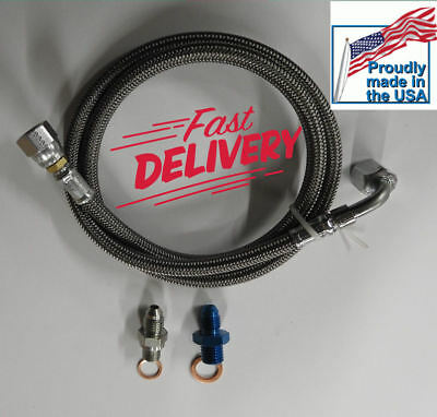 VW TDI 1.9 Turbo Oil Feed Line ALH BEW MK4 Beetle Golf Jetta Turbocharger