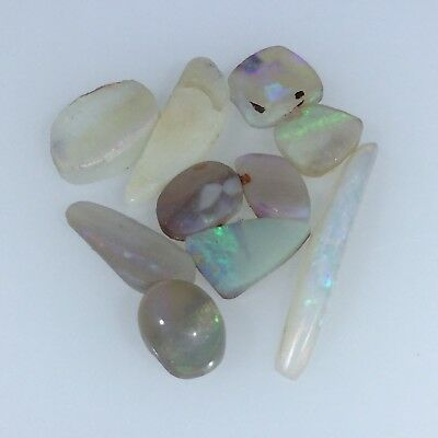 Australian White Opal. Solid natural ROUGH WHITE OPAL by Smart Opals