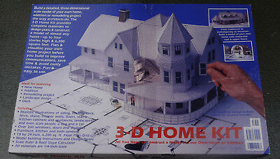 Nice Design Works 3 D Home Kit Construct A Paper Model Of Your Home 1/