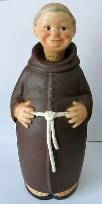 GOEBEL early FRIAR TUCK decanter 1950 with toes/sandals Full Bee KL92 VG 11""