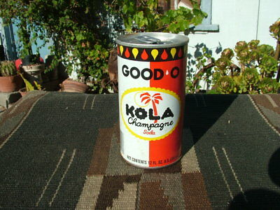 Vintage Good-O Cola Pull Top  Soda Can