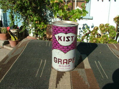 Vintage Kist Grape Soda Pull Top  Soda Can