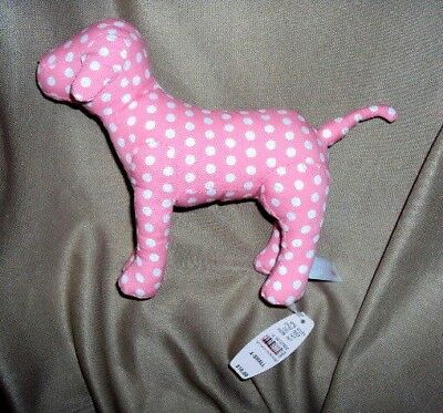 Victorias secret small polka dot dog  new not original package