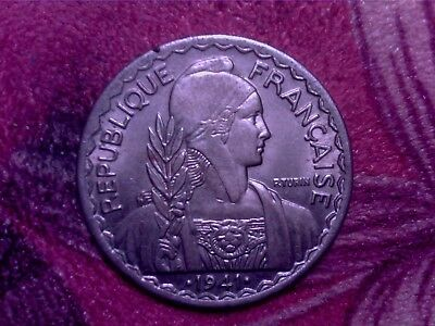 French  Indo- China  20 Cents 1941    Nice Coin  Jy17
