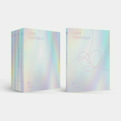 BTS-[Love yourself結'Answer'] 4th Album E Ver CD+Poster+Book+Card+Pre-Order+Gift
