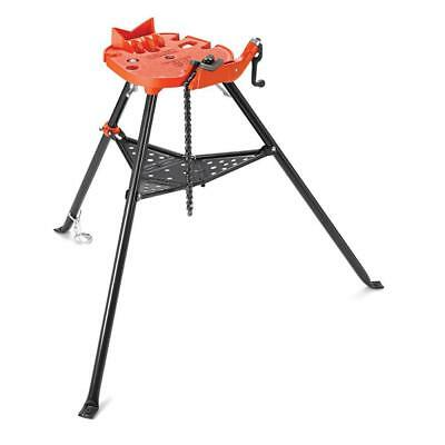 RIDGID Portable Trist Chain Vise Stand 1/8 - 6 Inch Universal Pipe Threading New