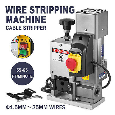 Powered Electric Copper Wire Stripping Machine Cable Stripper Metal Recycle Tool