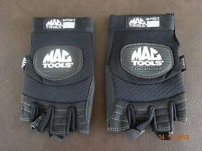 Mac Tools Fingerless M-Pact Work Gloves (XXL -  Black) - New