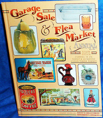 GARAGE SALE & FLEA MARKET ANNUAL Collectibles Value Book 4th edition 1996  E11