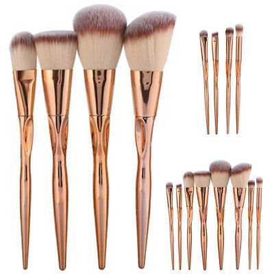 8pcs Pro Make up Brush Set Powder Foundation Eye shadow Blush Cosmetic Brushes