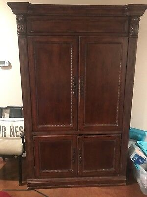 Large Wooden Armoire (TV Hutch) - $200 or best offer - Must be Picked Up