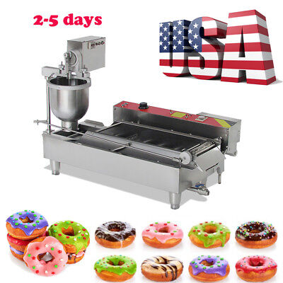 2-5 days Commercial Auto Automatic Donut Maker Doughnut Making Machine 3 sets US