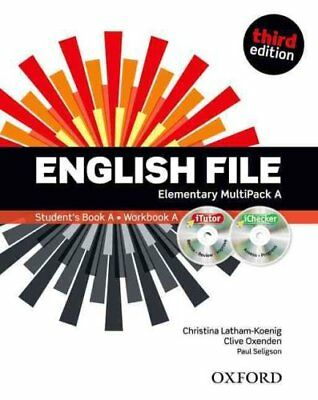 English File third edition: Elementary: MultiPACK A The best wa... 9780194598668