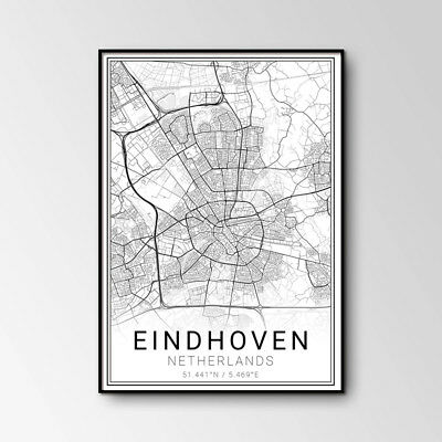 eindhoven painting giclee art print canvas poster nail art decorations 40*52 cm
