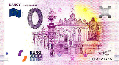 billet de 0 euros nancy