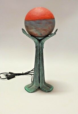 French Art Deco Lamp, early 1900's