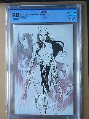 Elektra #1 CBCS 9.8 - J. Scott Campbell exclusive Cover C limited to 1200 copies
