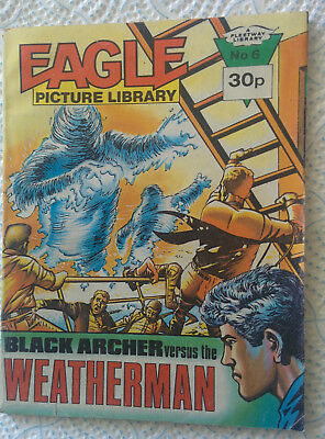 "Eagle Picture Library #6 ""BLACK ARCHER VS THE WEATHERMAN"" dated 1985"