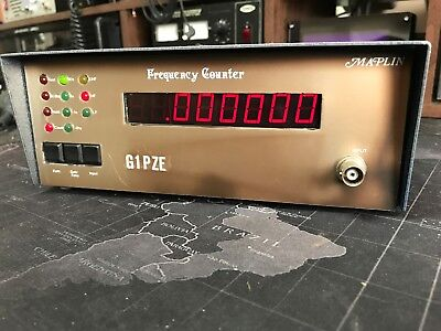 Maplin 8 Digit Frequency Counter