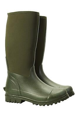 Mountain Warehouse Men's Waterproof Wellies with Soft and Flexible Neoprene