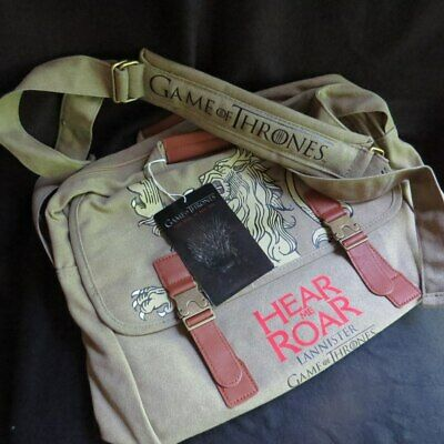 Game of Thrones - Lannister Sigil Canvas Messenger