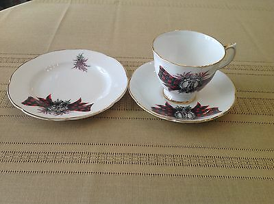 """Royal Grafton """"maclean"""" Porcelain Small Plate,cup & Saucer - Made In England"""