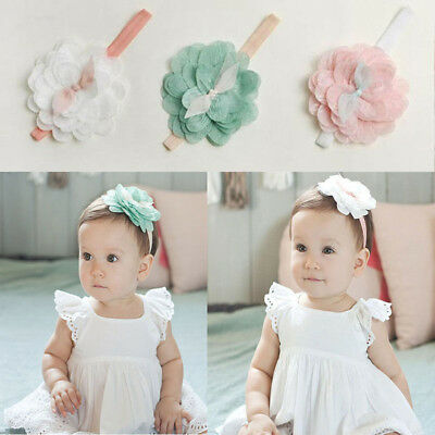 Toddler Baby Girl Cute Lace Flower Hair Band Headwear Kids Headband Accessories