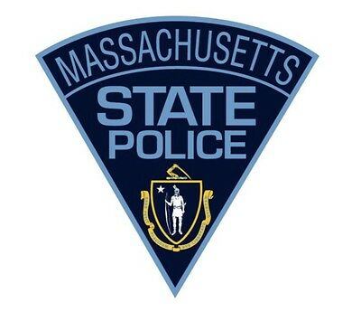 Massachusetts State Police Decal