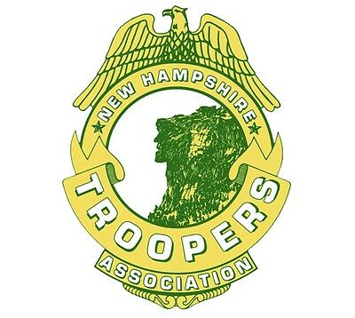 New Hampshire State Trooper Association Decal