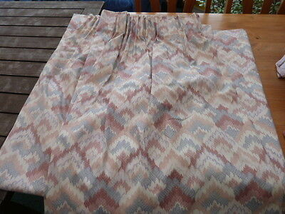 pair of curtains - heavy and excellent quality, handmade locally - pinks