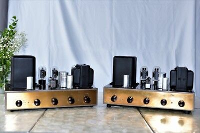 Pair vintage Eico HF-20 Mono Integrated Amplifiers - Excellent condition