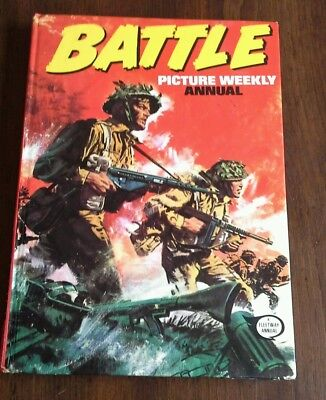 Battle Picture Weekly Annual 1975