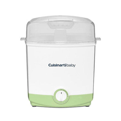 Cuisinart Portable Electric Steam Sterilizer for Baby Bottles and Toys, Green