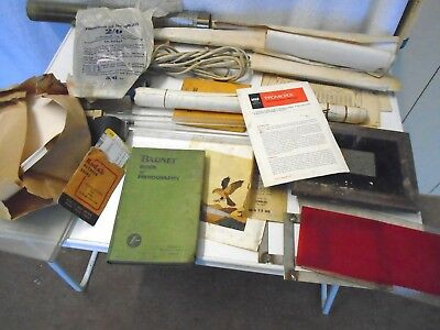 "Job Lot Of Vintage Developing Equipment Inc:""Barnet"" Book Of Photography"