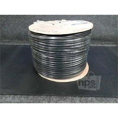 Vertical Cable 107-2179/BK RG59 Siamese Cable 1000ft Spool 18/2 & 20AWG Black*