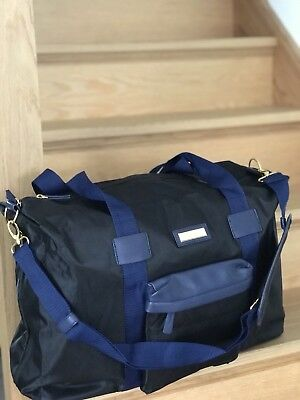 VERSACE Black Weekend Overnight Sports Bag With Shoulder Straps Large BRAND NEW!