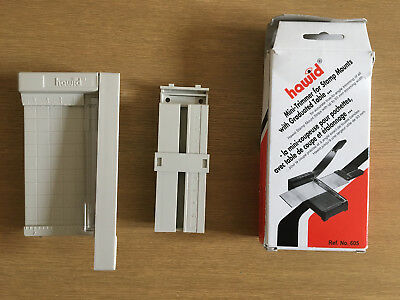 LINDNER Hawid Mini-Trimmer for Stamp Mounts with Graduated Table. 605. Used.