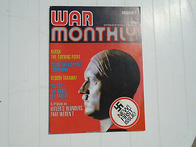 1970's War Monthly issue No. 1
