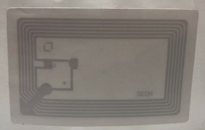 (2000) LIBRARY TAG 13.56MHz NXP ICODE SLIX EAS HF RFID STICKER LABELS ISO 15693