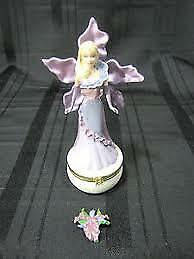 Barbie Collectibles Barbie Flower Box Adult Collector Orchid Caucasian RARE!